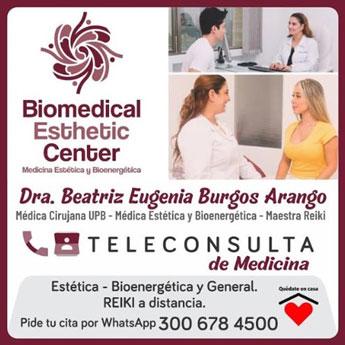 Teleconsulta de Medicina con la Dra. Beatriz Burgos