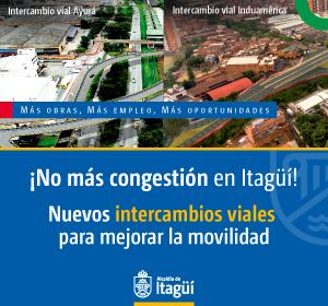 ¡No más congestión en Itagüí!