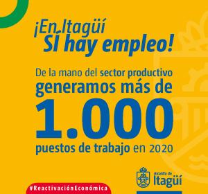 En Itagüí Sí hay empleo