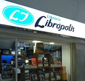 En la Librería Librópolis consigue sus libros