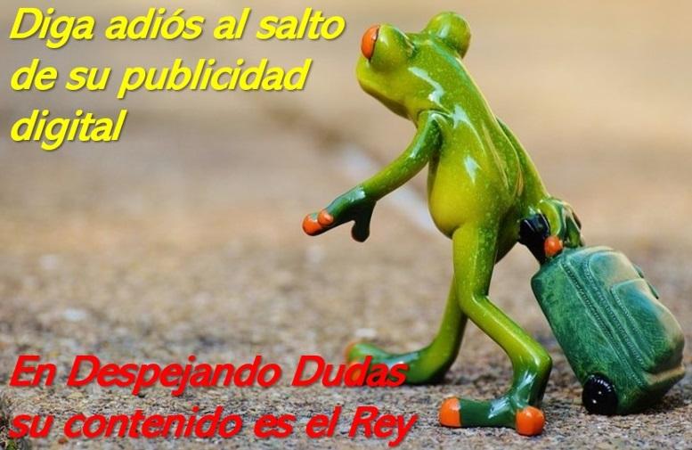 DIGA ADIÓS AL SALTO DE SU PUBLICIDAD