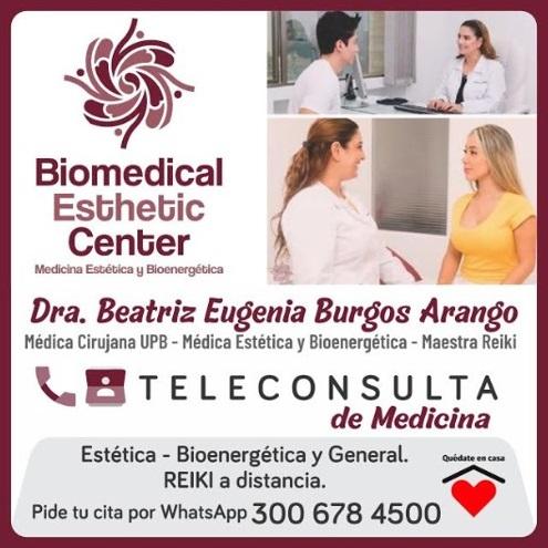 Teleconsulta de Medicina Estética, Bioenergética y Reiki